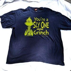 Dr. Seuss Grinch navy short sleeve t-shirt XL